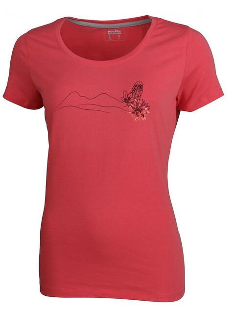 High Colorado Garda 2 - T-shirt manches courtes Femme - rouge